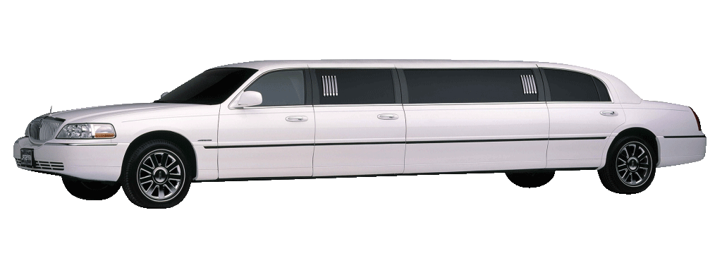 Lincoln Town Car Limo White X