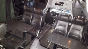 Krystal Luxury Bus interiors