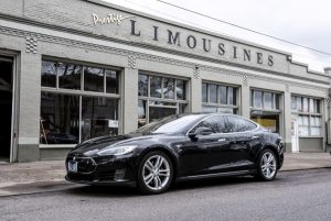 Tesla Model S Electric Luxury Sedan exterior