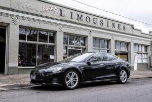 Tesla Model S Electric Luxury Sedan exterior