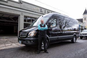 Mercedes Sprinter Van exterior